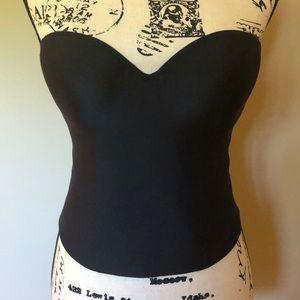 Maidenform Lilyette Strapless Camisole Cami 34C